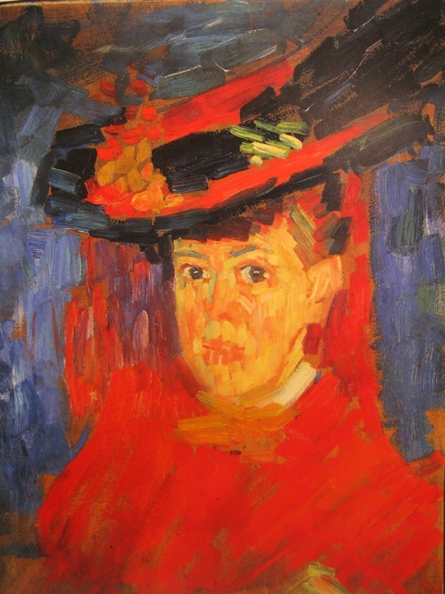 alexej von jawlensky bildnis von marianne werefkin 1906 Der blaue Reiter: Alexej von Jawlensky en Marianne von Werefkin