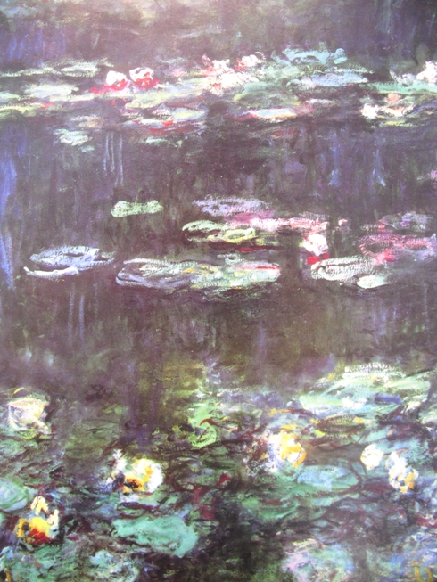 Claude Monet 1916-26 waterlelies, Wasserlilien
