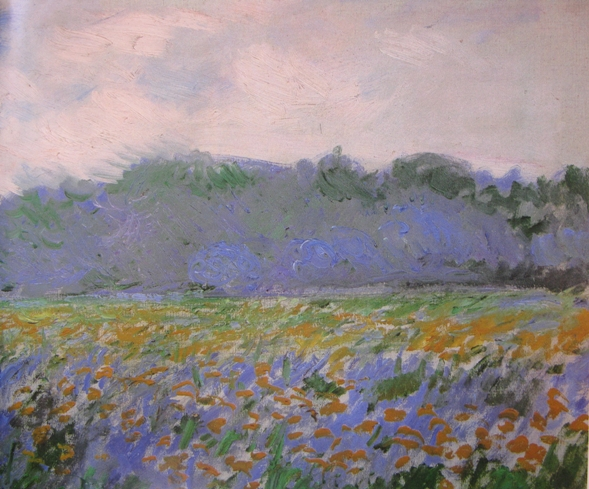 Claude Monet, Fields with irises, 1887
