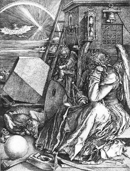 durer melancholia i 1514 De Pasen van Goethes Faust