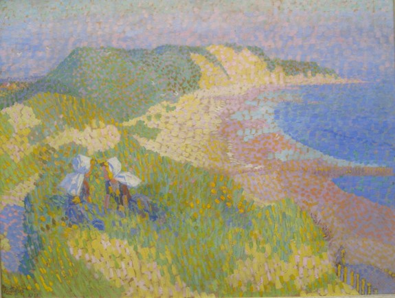 jan toorop duinen en zee zoutelande 1907 De Hollandse wildernis, geschilderde duinlandschappen in de 20ste eeuw