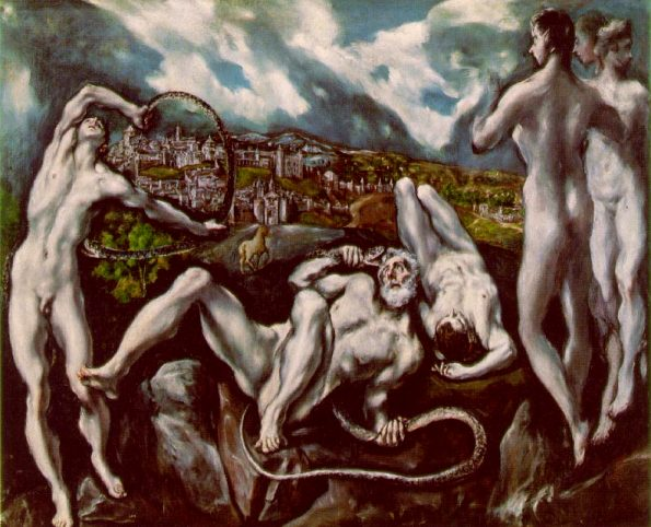 laocoon el greco Laocon, van antieke oudheid tot Michael Najjar