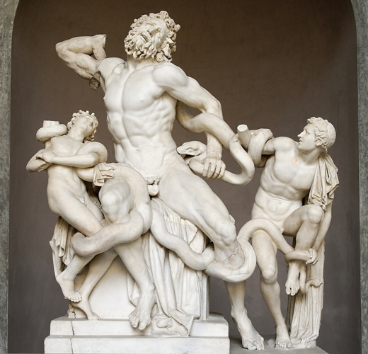 laocoon Laocon, van antieke oudheid tot Michael Najjar