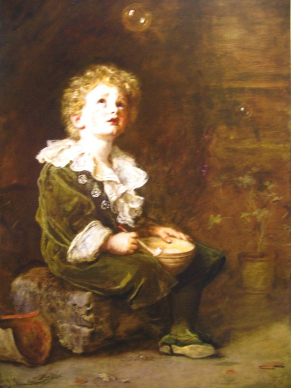 millais zeepbellen 1886 Zeepbellen in kunst, wetenschap, literatuur