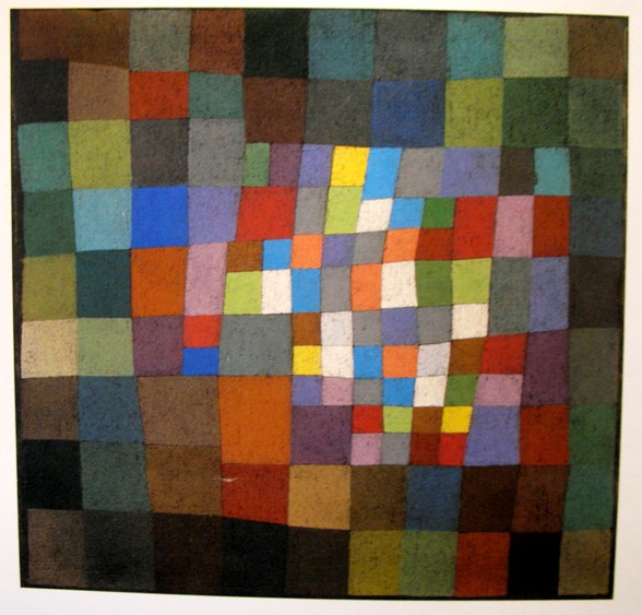 paul klee bluehendes blossoming 1934 Kandinsky, Klee, Mondriaan: kleurrijke flexibele schaakborden