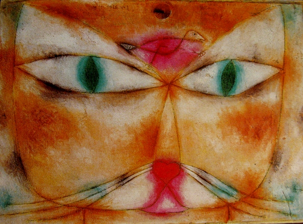 paul klee katze und vogel De Blaue Reiter: poezen/ Paul Klee, Franz Marc