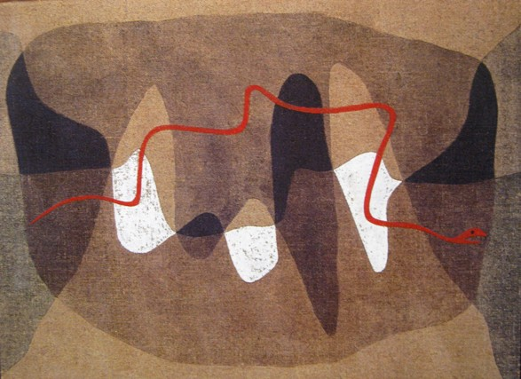 paul klee snake paths schlangenwege serpent slang Entartete Kunst: Paul Klee