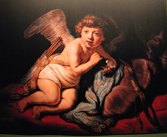 rembrandt bellenblazende cupido 1634 Zeepbellen in kunst, wetenschap, literatuur