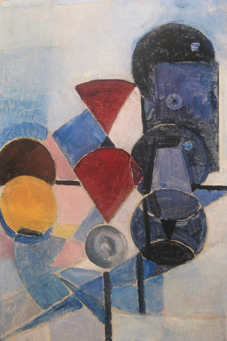 theo van doesburg composition ii still life 1916 Stillevens/composities van Theo van Doesburg