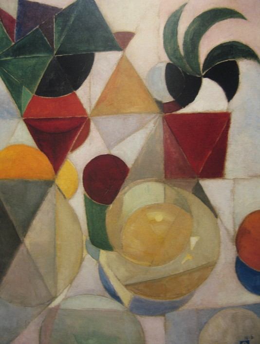 theo van doesburg composition iii still life 1916 Stillevens/composities van Theo van Doesburg
