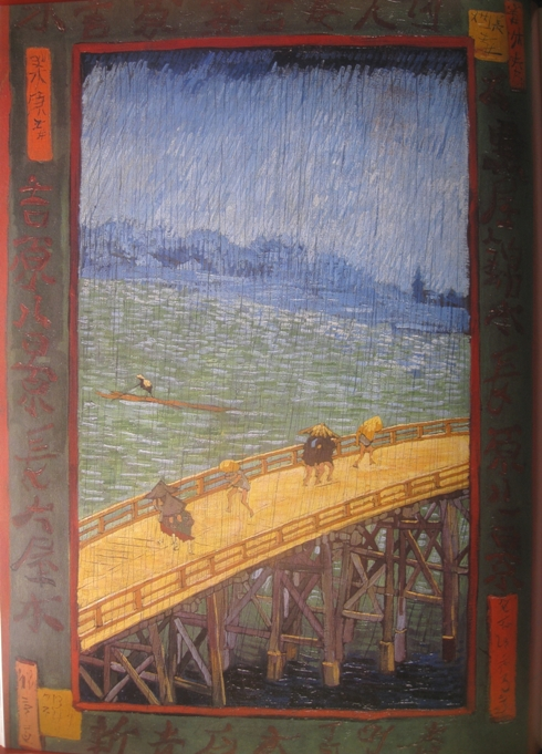 van gogh brug in de regen naar hiroshige 1887 Regendag in de kunst