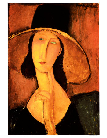 woman with hat Vrouw met hoed/ Jawlensky, Macke, Klee, Manet  etc